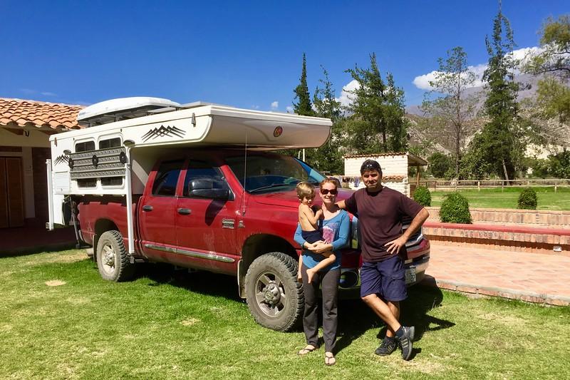 Camping Guadalupe, Caraz, Peru
