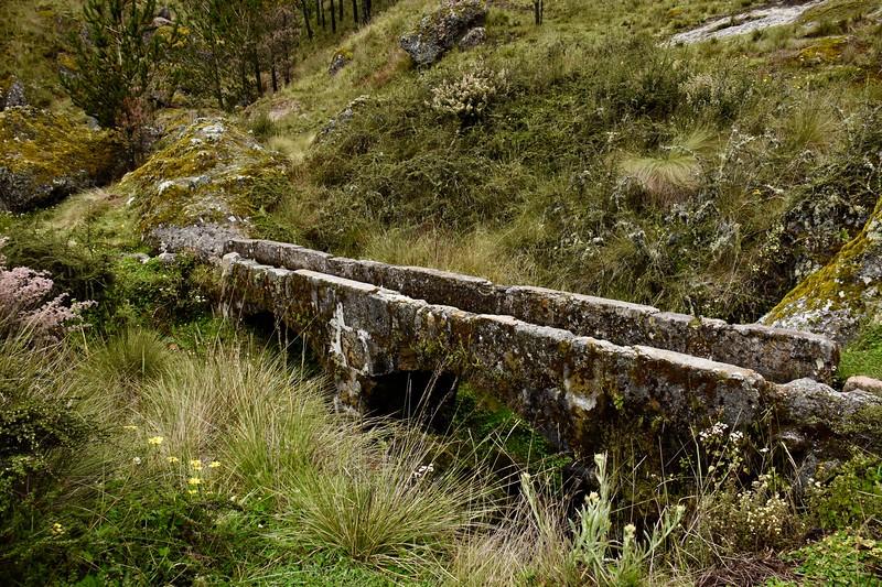 Cumbe Mayo Aqueducts, Cajamarca, Peru
