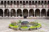 The interior courtyard of the Inca Sun Temple in Cusco, Peru, South America.