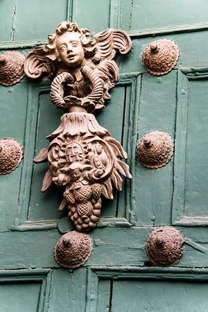peru, cusco, plaza de armas, architecture, colonial church, door