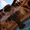 """<a href=""""http://nomadicsamuel.com"""">http://nomadicsamuel.com</a> : A photo of a spouting fountain captured with motion blur caused by a slow shutter speed in Cuzco, Peru - travel photo from Cusco"""