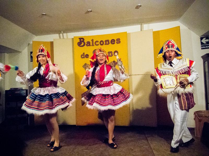 Local dance in Puno