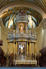 Interior of the Basilica Cathedral in Lima, Peru, South America.