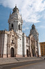 The Basilica Cathedral of Lima, Peru, South America.