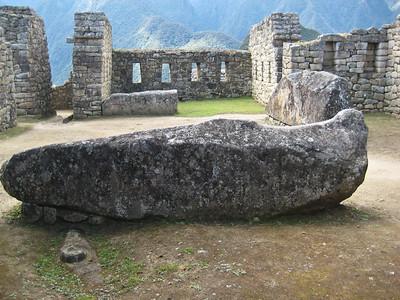 Мачу-Пикчу. В домах на восточной стороне города/Machu Picchu. The houses on the east side of town