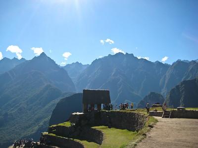Мачу-Пикчу. 22 июня 2010. На верхней площадке/Machu Picchu. June 22, 2010. On the top platform