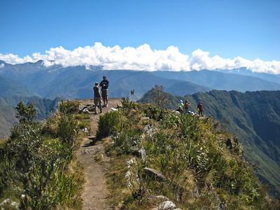 Мачу-Пикчу. Последние метры к вершине../Machu Picchu. The last meters to the summit ..