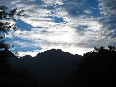 Мачу-Пикчу. И небо в ожидании восхода/Machu Picchu. And the sky waiting for the sunrise