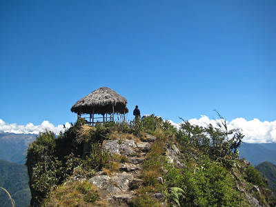 Мачу Пикчу, почти на вершине/Machu Picchu, almost on top ..