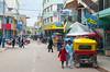 Street scenes in Juliaca, Peru, south America.