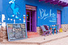 The Blue Llama restuarant in Pisac, Urubamba Valley, Peru, South America.