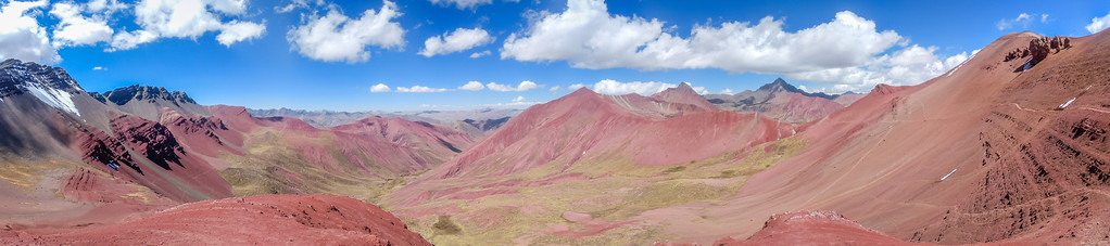 Red Valley Valley Rojo Rainbow Mountain