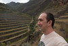 Numerous terraces above Pisac and below Inca ruins are not cultivated now.