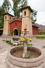 The Church at the Sonesta Posada del Inca Hotel in Yucay, Peru, South America.