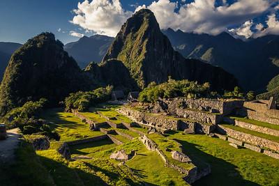 Downtown Machu Picchu