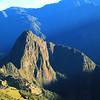 Sunbeams illuminate Machu Picchu, Per