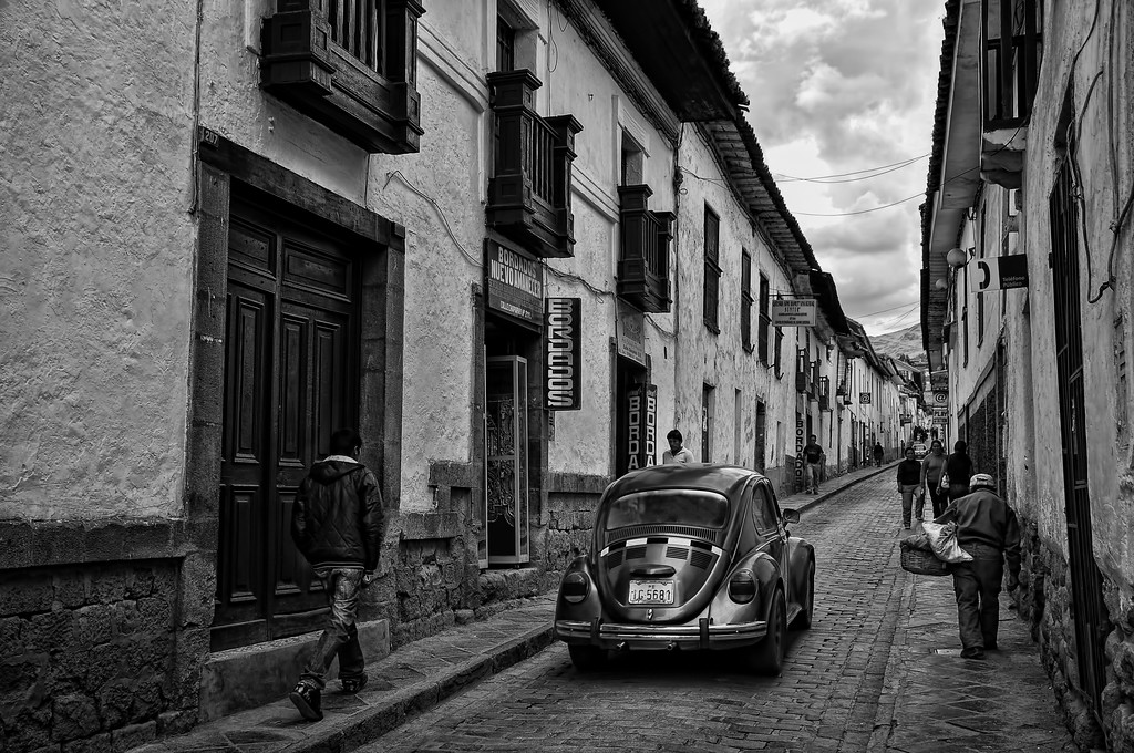 The Old Streets of Cusco