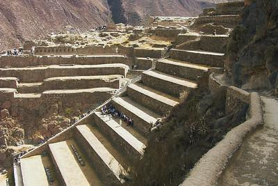 Ollantaytambo Fortress Ruins