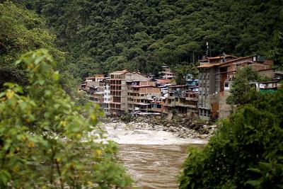Aguas Calientes, Urubamba River, Peru