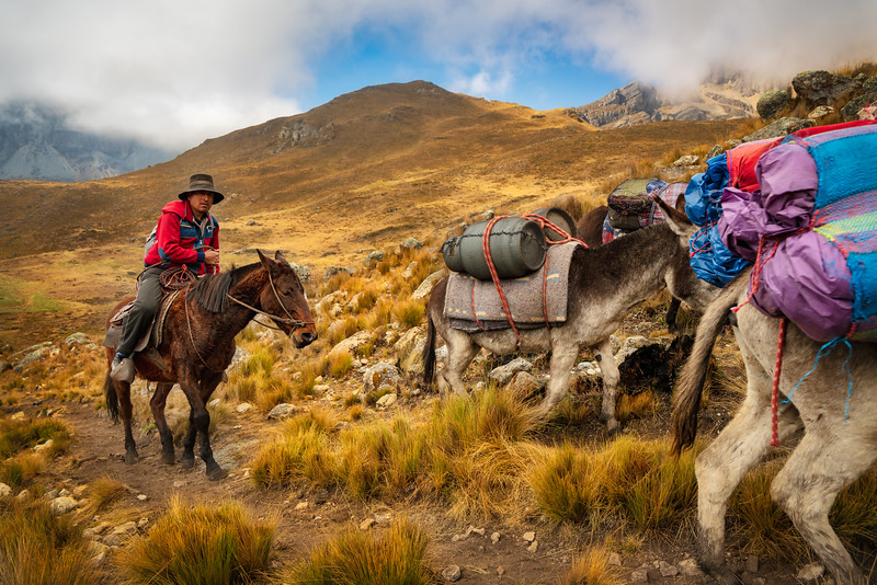 Trekking Through the Cordillera Huayhuash