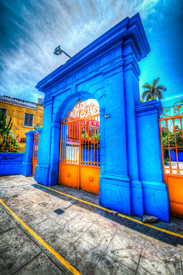 Painted Gate