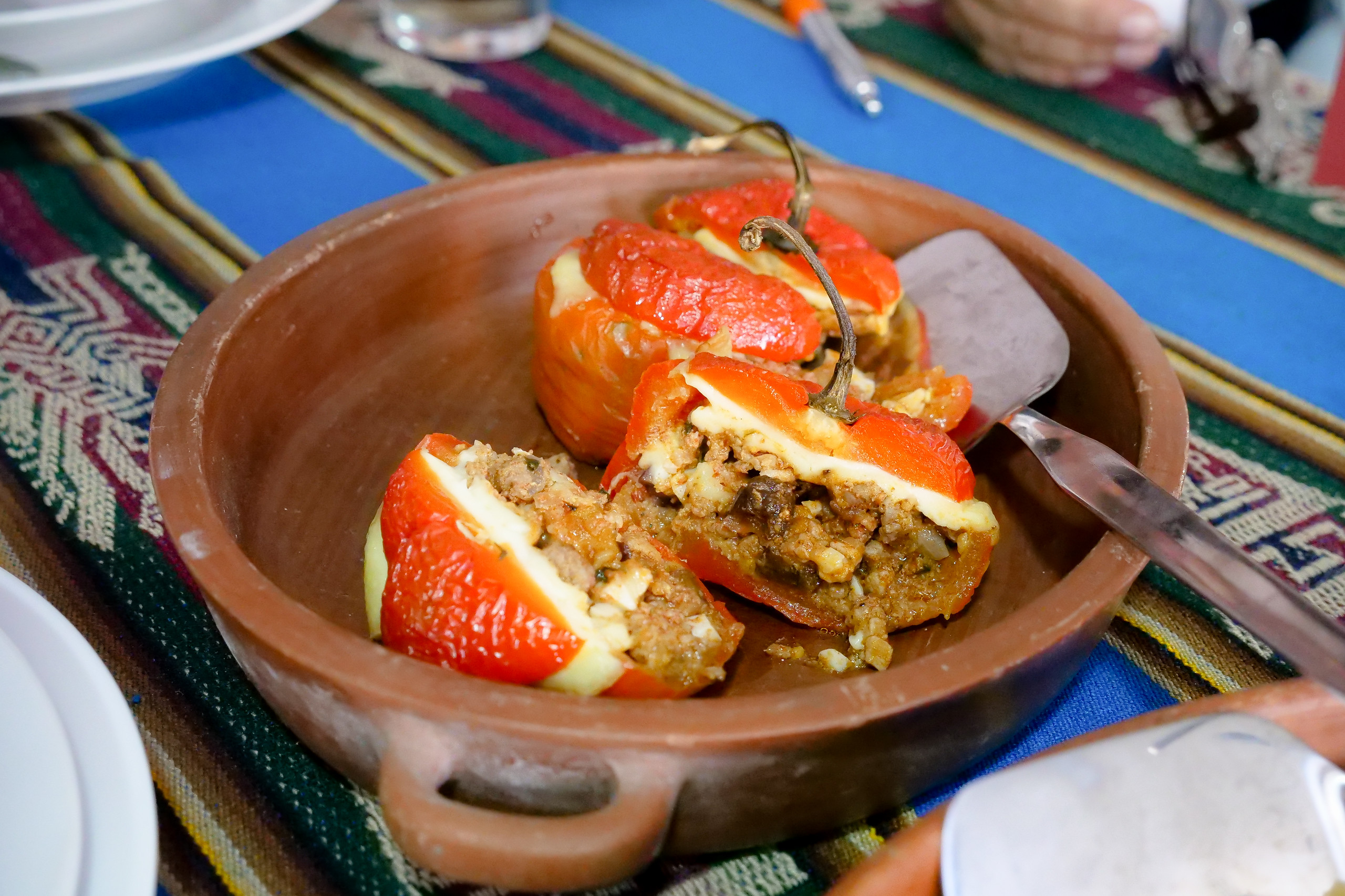 Traditional food Peru