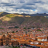 Birdseye view of Cusco