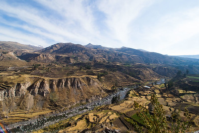 Terrasses in Colca Canyon
