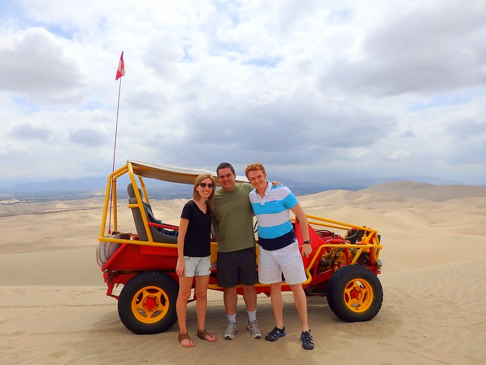 Dune buggying!