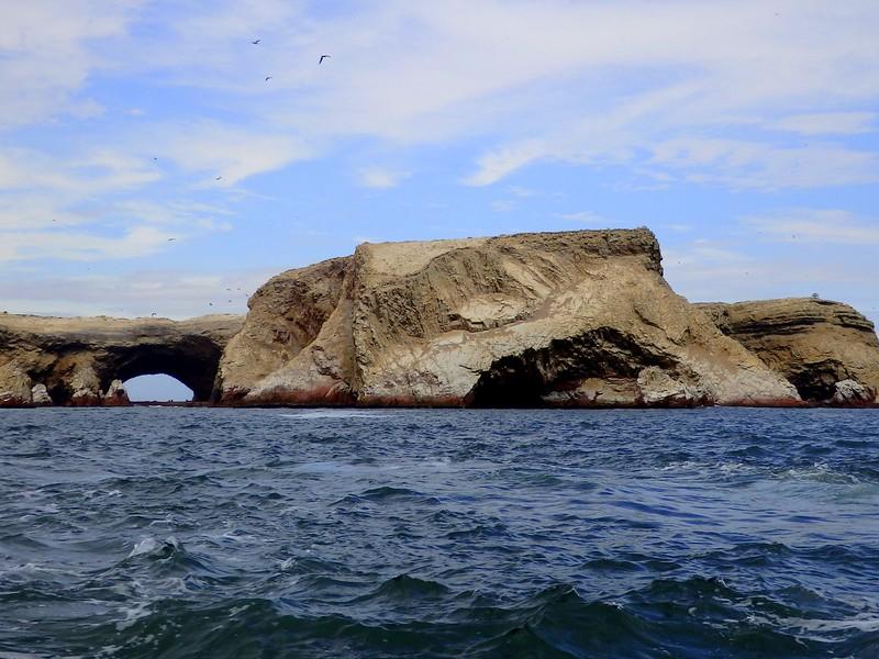 Boat trip to Islas Ballestas, Peru.