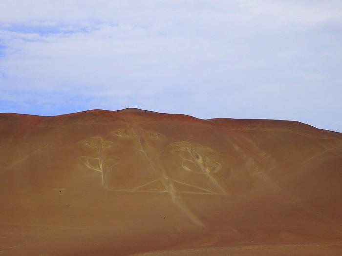 The Paracas Candelabra in Peru