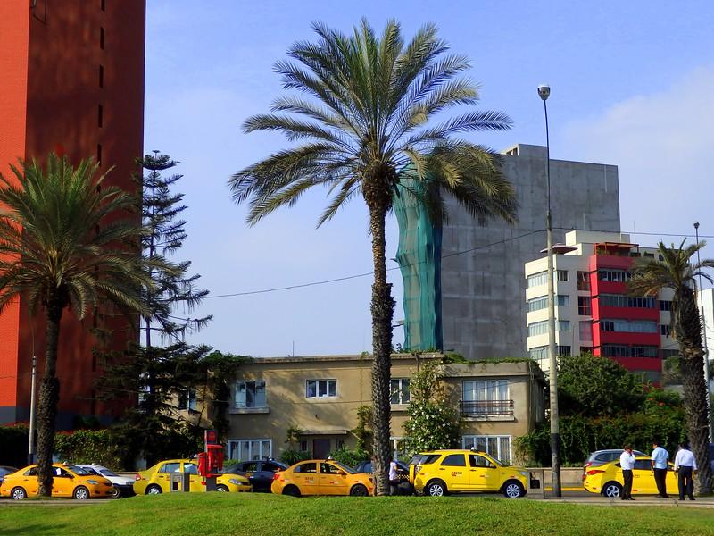 Visiting Lima.