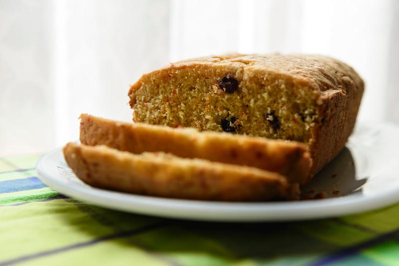 Gluten Free Cake Image using Window Lighting
