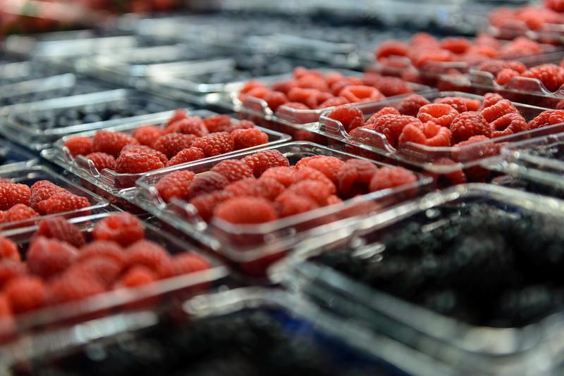 Berries at WestSide Market, Cleveland
