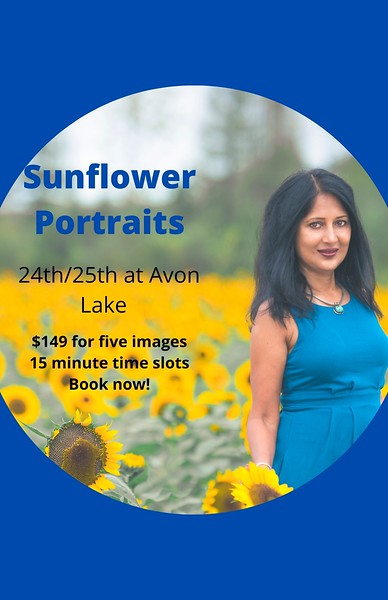 Sunflower Portraits