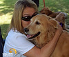 Molly and Cathy 2013 Elk Grove K9 Cancer Walk