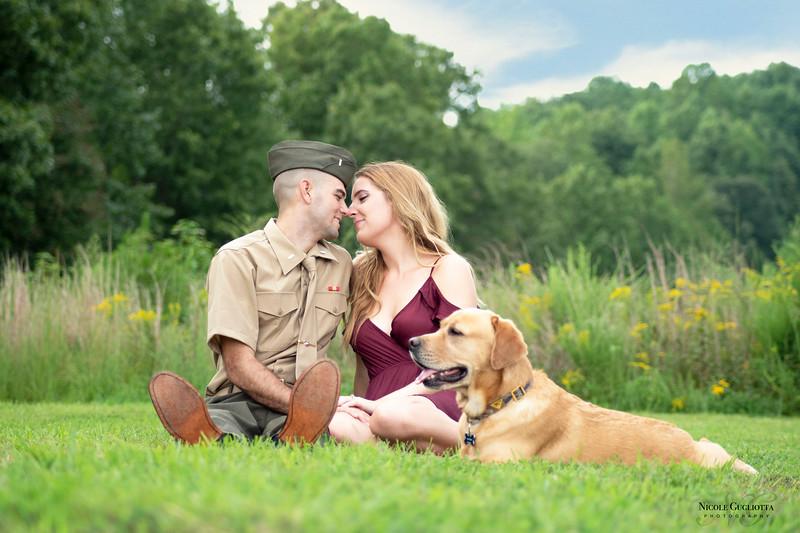 Me, My Marine, and My Fur Baby!