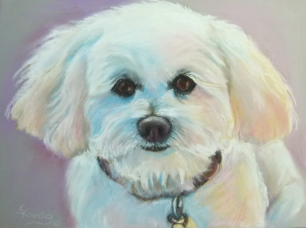"9"" x !2"" Original Pastel on Uart sanded paper. Commission"