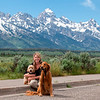 0016 Marie and Boys and Teton Range_Jackson_Hole