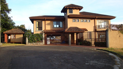 SPECTACULAR 6-bedroom, 3-1/2 level villa in Vista de Oro!!  Albeit empty at the time (it was for rent for $4,500/month) so it was just me, my twin futon, toaster oven, single burner & a few things!!