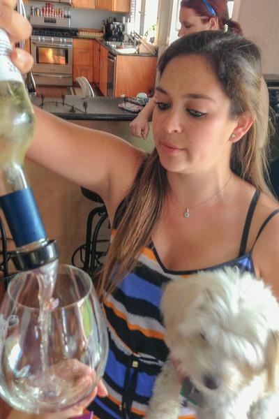 Cecelia Enriquez from Enriquez Estate Wines, Petaluma, CA