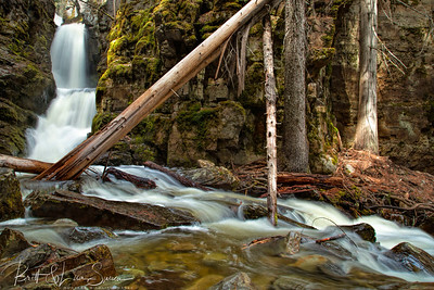 Little North Fork Falls
