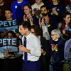KRISTOPHER RADDER — BRATTLEBORO REFORMER<br /> Democratic presidential candidate former South Bend, Ind., Mayor Pete Buttigieg holds a town hall at Keene State College, in Keene, N.H., on Saturday, Feb. 8, 2020.