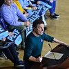 KRISTOPHER RADDER — BRATTLEBORO REFORMER<br /> Michael J. Fox introduces Democratic presidential candidate former South Bend, Ind., Mayor Pete Buttigieg during a town hall at Keene State College, in Keene, N.H., on Saturday, Feb. 8, 2020.