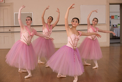 Rehersal photos at Marblehead School of Ballet. Photo by Peter Smith