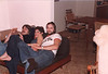Peter Lantz on couch with two other people