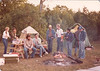 Labour Day 1982 - Cathy, Tony, Duff - Duffy, tom, B ?, Tony, Rob