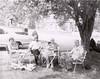 Jean Lantz (wife of Howard), Lloyd ,Lillie Wilson (mother of Jean), Howard Lantz on lawn