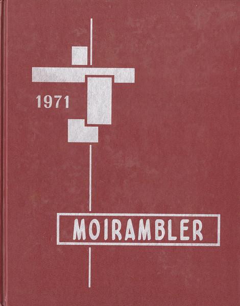 Moirambler 1971 - Moira Secondary School, Belleville Ontario, Yearbook 1970 - 71