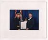 Peter Lantz being awarded OPP Commissioner's Citation for Bravery
